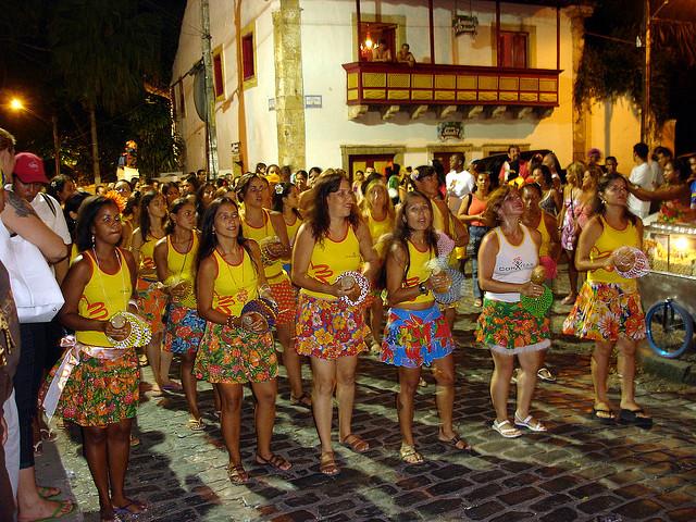 girls at Carnival, Brazil
